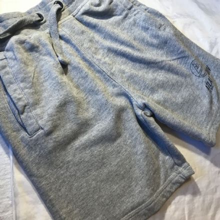 7-8 Year Grey Marl Shorts